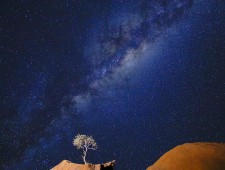 PSA Silver Medal - Rosalie Wang (USA)  - Night Sky at Spitzkoppe